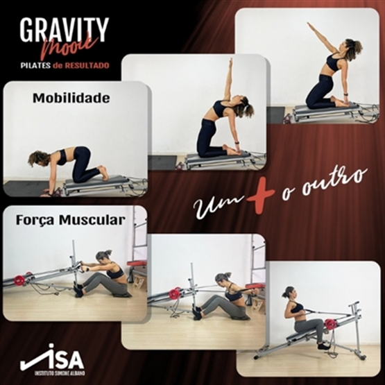 Formação Gravity Pilates - Sistema Basic